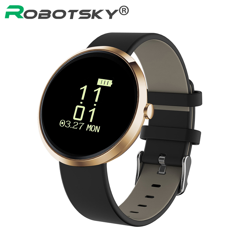 Health Tracker Blood Pressure Monitor Sport Fitness Activity Smartband Bluetooth Wristband For IOS Android Anti Lost