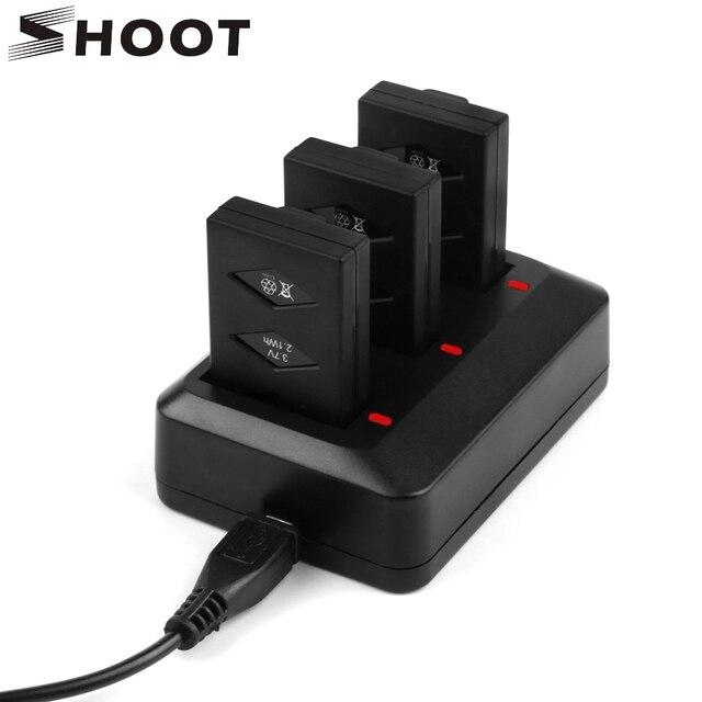 SHOOT Morpilot 3-Pack 3.7V 600mAh 20C Li-po Battery for Parrot Mini Drone...