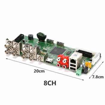 Video recorder 4CH 8CH 16CH 5M-N DVR Board Surveillance Security CCTV Recorder For AHD/CVI/TVI/CVBS 5MP Camera