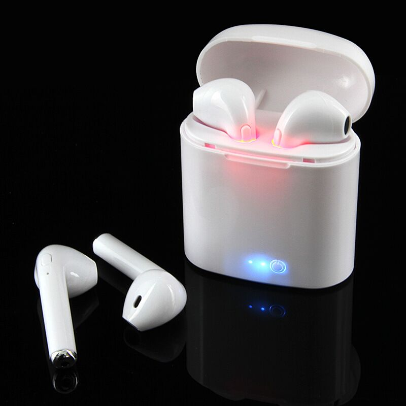 Original Mini TWS i7s Twins Bluetooth Headphone Stereo Earphone Wireless Earbuds Phone Earphone with Microphone For iOS Android x1t x2t twins true wireless tws mini headset bluetooth earphone csr4 2 headphone with magnetic charging dock for ios android