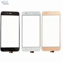5x Переднее стекло сенсорный экран для Xiao mi 5X A1 mi A1 5x mi A1 mi 5X Сенсорное стекло для мобильного телефона дигитайзер панель объектив сенсор