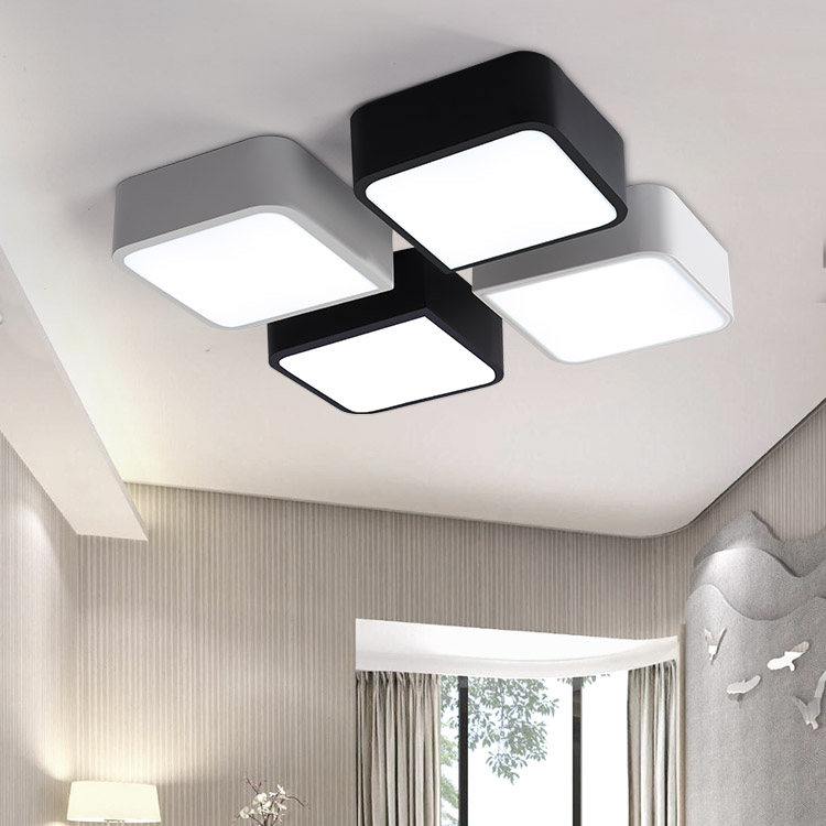 Free Combination Modern LED Ceiling Lights Creative Minimalism ceiling Lamp luster Bedroom living room Dining Room Foyer Study