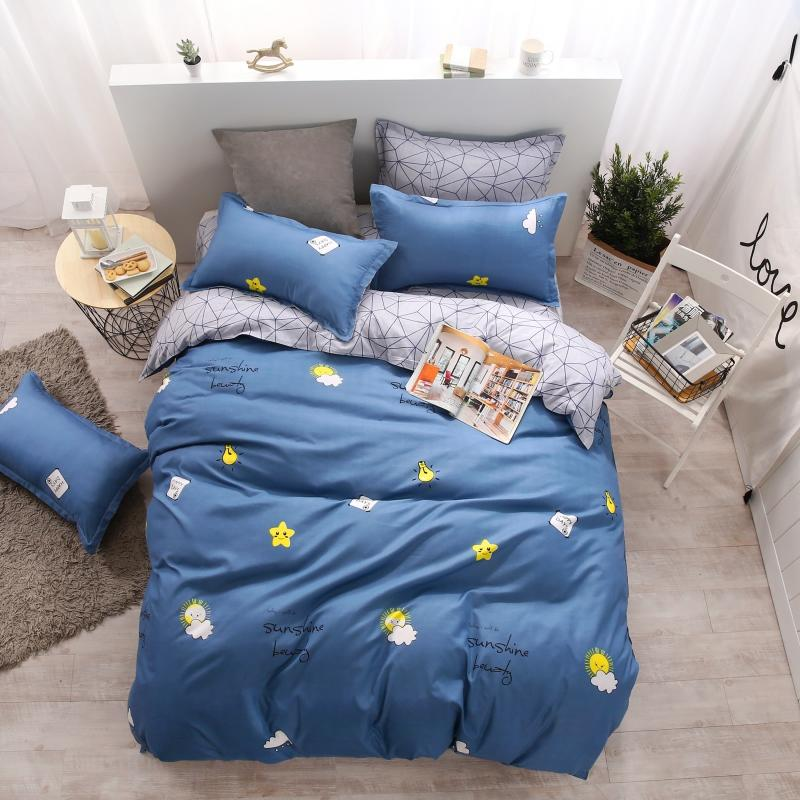 3D  Star Bed Linens Bedding Sets for Duvet Cover Set Double Size Quilt Cover Bedding Bedclothes 3D  Star Bed Linens Bedding Sets for Duvet Cover Set Double Size Quilt Cover Bedding Bedclothes