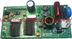 Industrial street lamp control and broken cable control system for high harmonic interference Carrier module