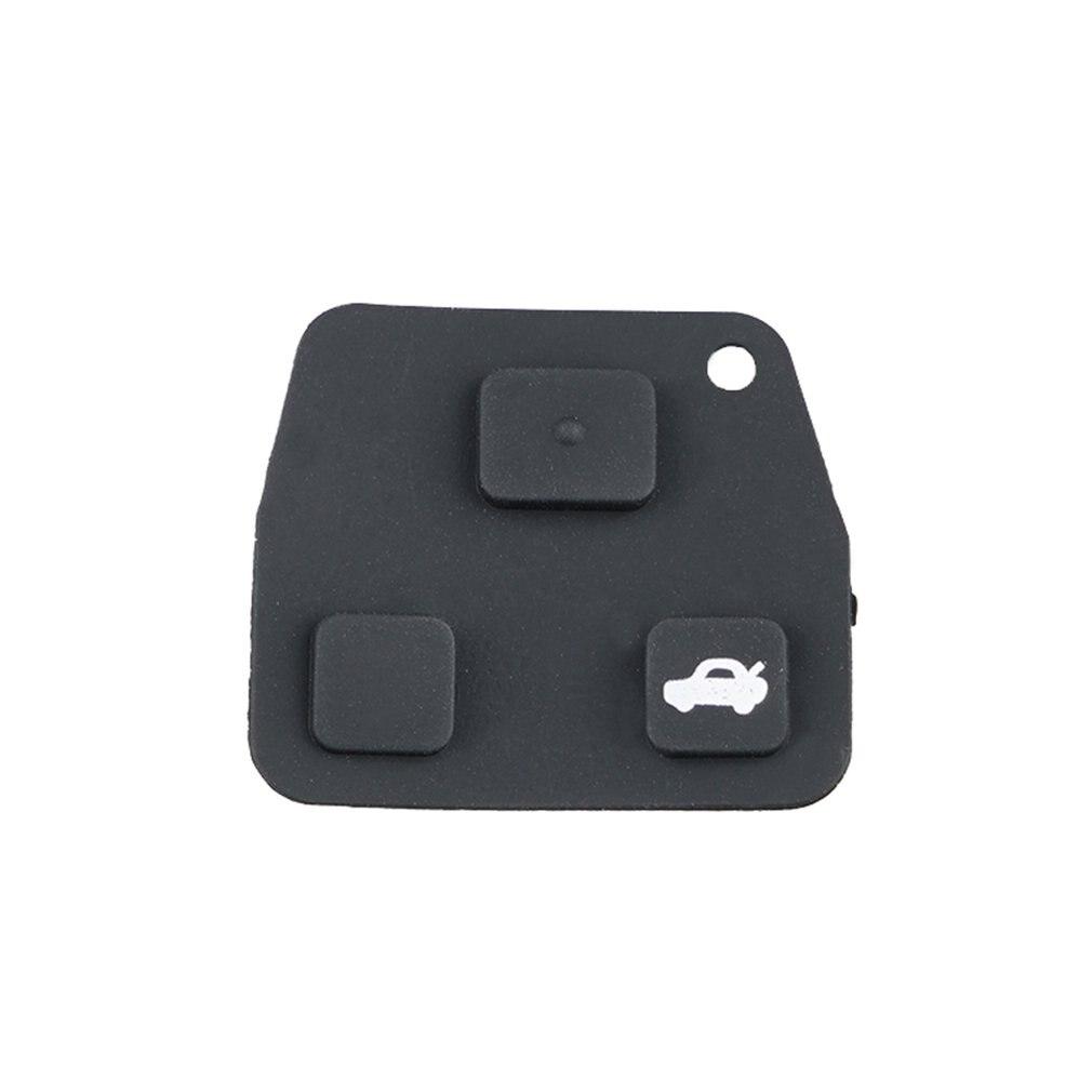 ミニリモートキーケース用ゴムパッドのための 2 または 3 ボタンキー fob ケース Yaris カローラアベンシス修理