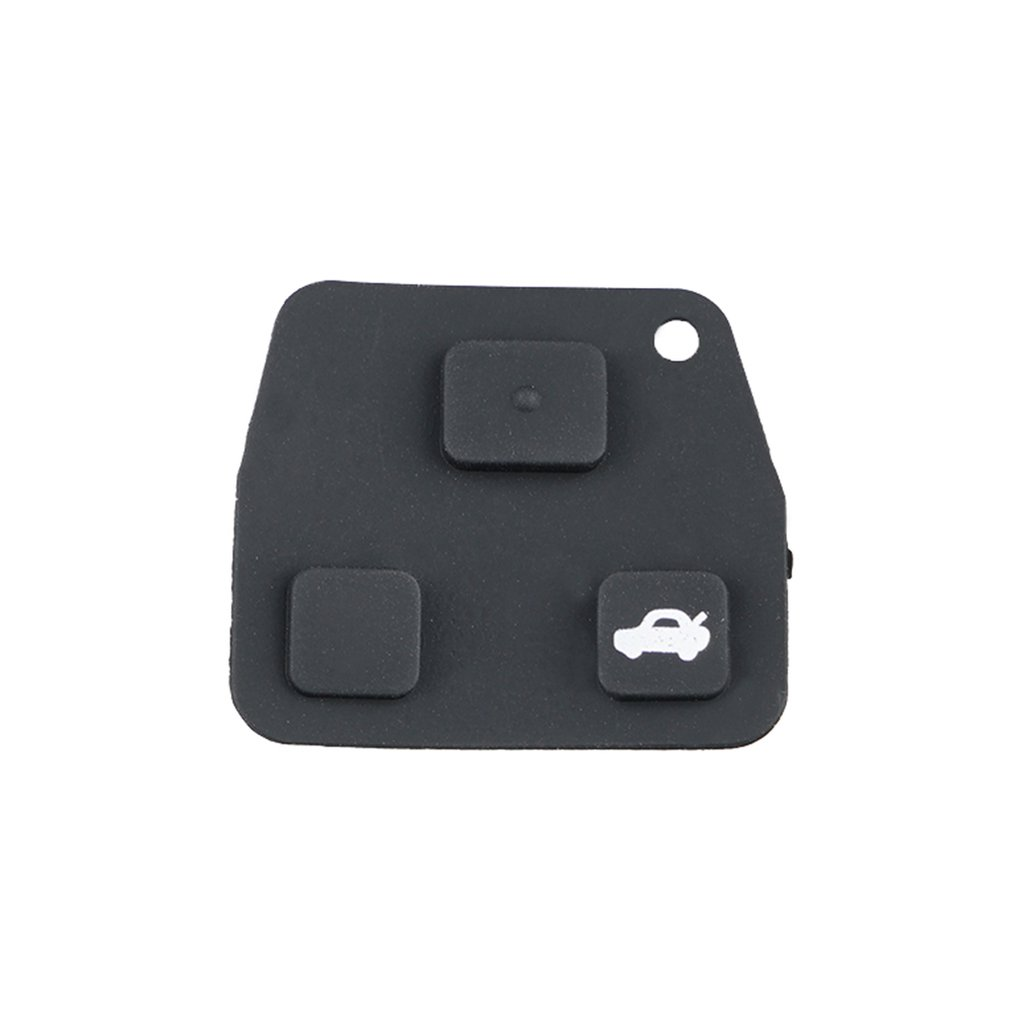 Remote-Key-Case Avensis-Repair Corolla Toyota Mini for Rubber-Pad Yaris 3-Button 2 title=