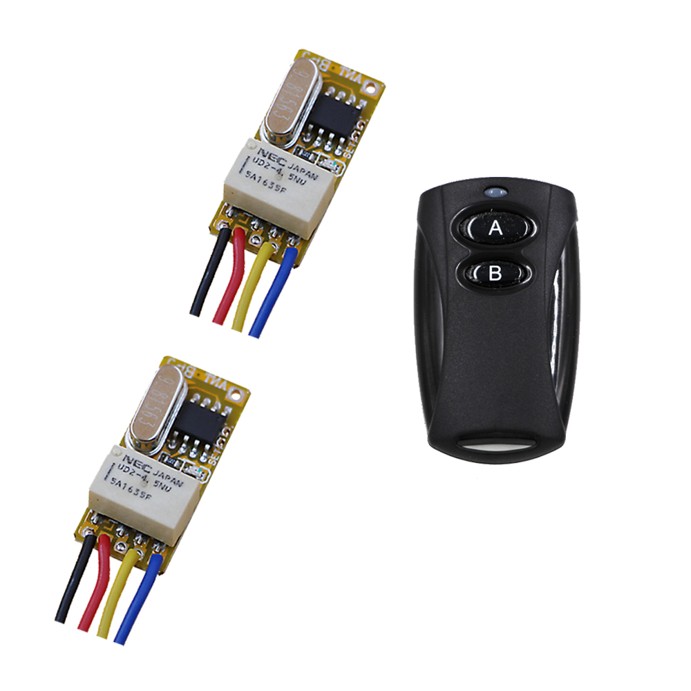 Latest 1CH Relay Switch RF Remote Switch 3.6V 4.5V 5V 6V 7.4V 9V 12V Wireless Remote Switch NO COM NC Momentary Toggle 315mhz dc 12v 4ch 1ch independent relay wireless remote light switch 2ch momentary 2ch toggle switch 315mhz 433mhz