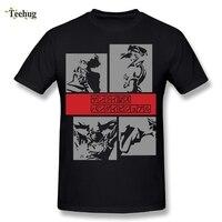 3D человек печати ковбойский Бибоп футболка Лидер продаж Пользовательские Хлопковые футболки