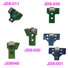 USB Charging Port Socket Charger Board Replacement Repair Parts For PS4 Controller JDS-050 5.0 011 001 030 040(China)