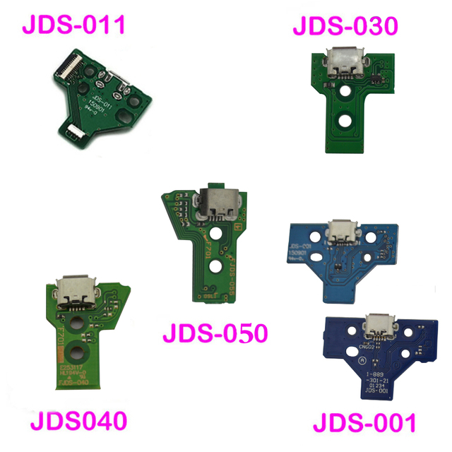 USB Charging Port Socket Charger Board Replacement Repair Parts For PS4 Controller JDS-050 5.0 011 001 030 040