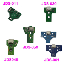 USB شحن ميناء شاحن مقبس مجلس استبدال إصلاح أجزاء ل PS4 تحكم JDS 050 5.0 011 001 030 040