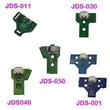 USB şarj portu soket şarj cihazı kurulu yedek tamir parçaları için PS4 denetleyici JDS 050 5.0 011 001 030 040