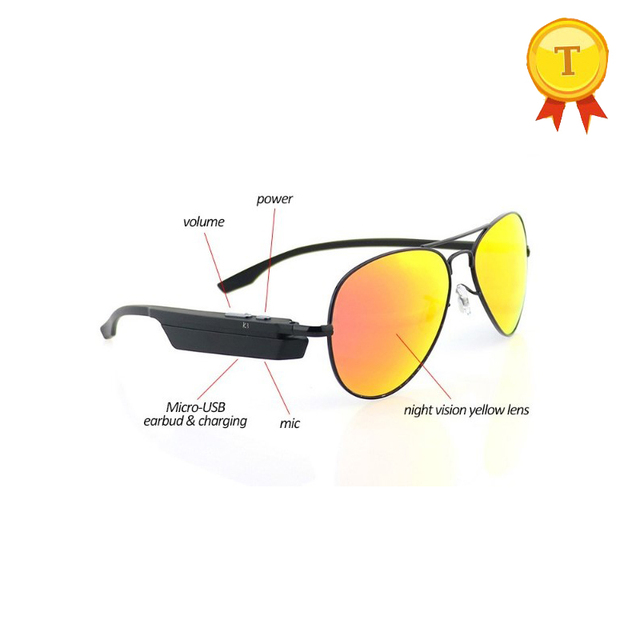 fashion wholesale for man and women smart bluetooth sunglasses Wireless phone call smart glasses hand free sports glasses