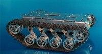 Оригинальный металлический бак шасси амортизация робот цистерны пружинная подвеска Caterpillar трактор препятствий clawer DIY