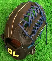 High quality! DL Adult 12.5Inch cowhide leather baseball gloves softball infielder gloves,Free shipping!
