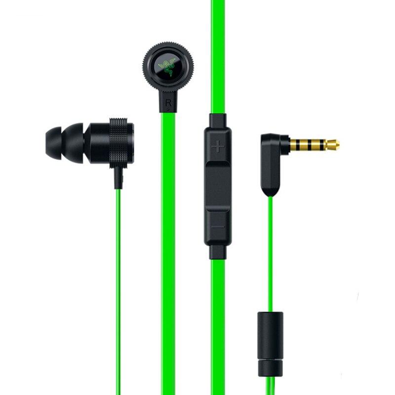 Hammer V2 Pro In-ohr Kopfhörer Gaming Headsets Lautstärkeregler Kopfhörer Mit Mikrofon kopfhörer für telefon PK Razer