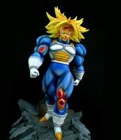 [Funny] 12 DragonBall Z Super Saiyan Third Grade Future Trunks Combat version GK Action Figure Resin Statue Collection model