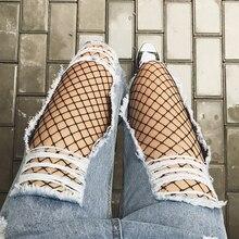Бесплатная доставка отверстие джинсы женские свободные брюки длины лодыжки нищий брюки женские джинсы случайные