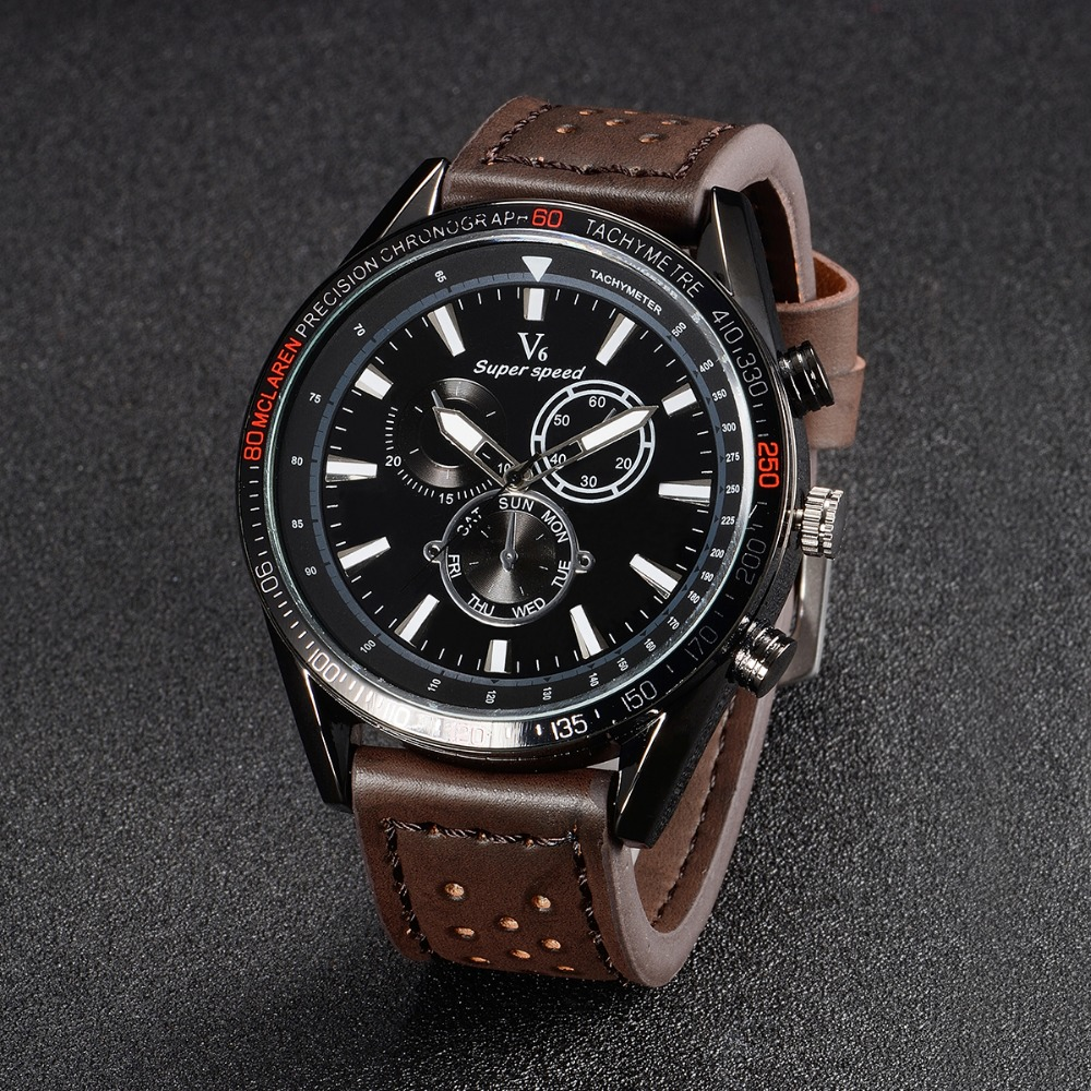 Hot sale 2016 Fashion V6 Watches Men Luxury Brand Analog Sports Watch Top Quality Quartz Military Watch Men Relogio Masculino free drop shipping 2017 newest europe hot sales fashion brand gt watch high quality men women gifts silicone sports wristwatch