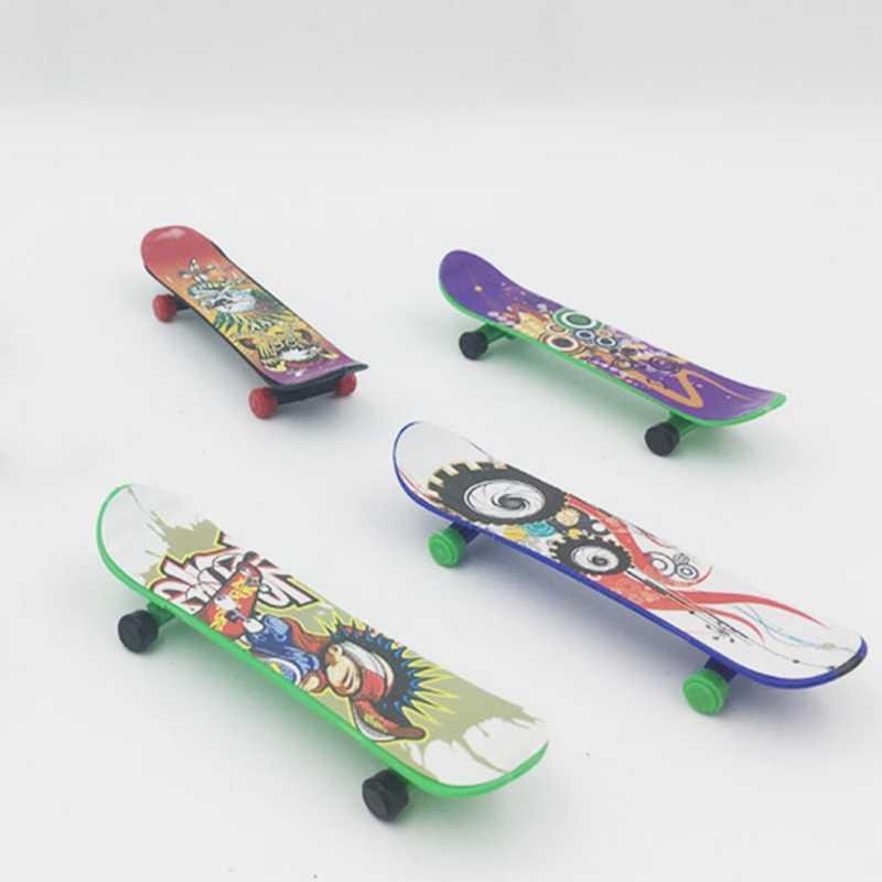 5 шт./партия 2018 сплав гриф мини доски для пальцев с розничной коробкой скейт грузовики скейтборд на палец для детей игрушки подарок для детей