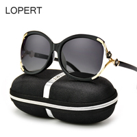 LOPERT Cat Eye Polarized Sunglasses Women Fashion Sun Glasse Brand Designe High Quality Female Driving Glasses