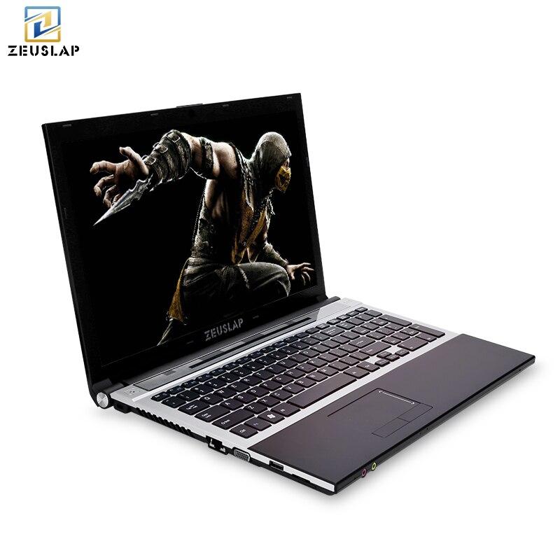 15.6 pollici intel core i7 8 gb di ram con ssd e hdd dual dischi Finestre 10 sistema di 1920x1080 p pieno hd Notebook PC Del Computer Portatile Del Computer