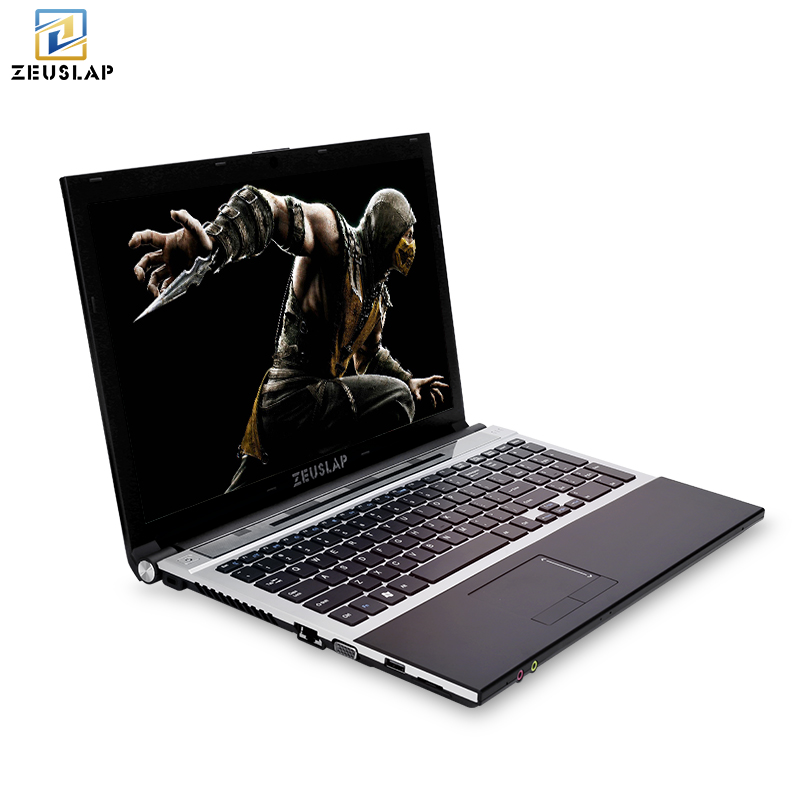 15.6inch intel core i7 8gb ram with ssd and hdd dual disks Windows 10 system 1920x1080p full hd Notebook PC Laptop Computer