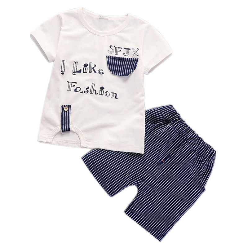 2018 Summer Baby Boys Clothing Sets Cotton Children Clothes Toddler girls outfits casual kids sport suits baby boys clothes set children s suit baby boy clothes set cotton long sleeve sets for newborn baby boys outfits baby girl clothing kids suits pajamas