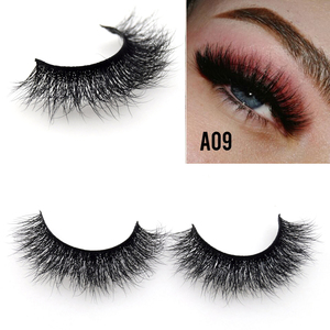Image 5 - Visofree 25 pairs/lot Mink Eyelashes Full Volume Stunning 3D Mink Lashes Handmade Full Strip Lashes maquillage makeup Eye lashes