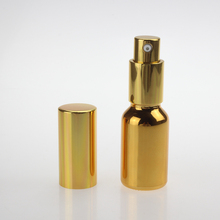 gold silver 15ml bottle