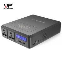 Все power S power Bank 154 Вт 41600 мАч два 110 В AC розетки Внешнее зарядное устройство для iPhone samsung MacBook lenovo acer ASUS и т. Д.