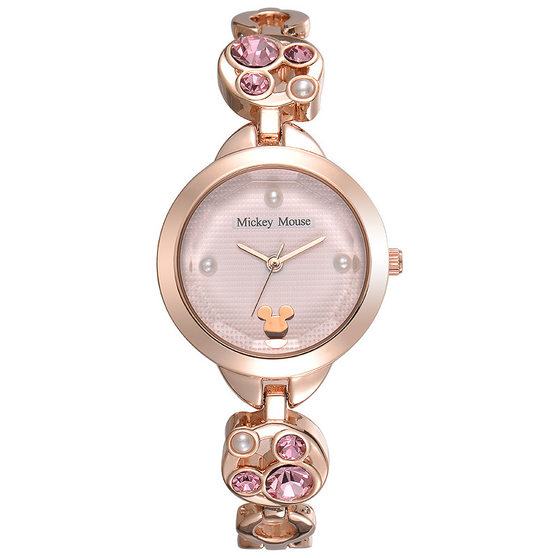 rose gold women watches Disney brand quartz stainless steel ladies clocks Mickey mouse diamond waterproof female wristwatch kezzi famous brand women watches fashion silver rose gold women s bracelet watch quartz stainless steel wristwatch lady clocks