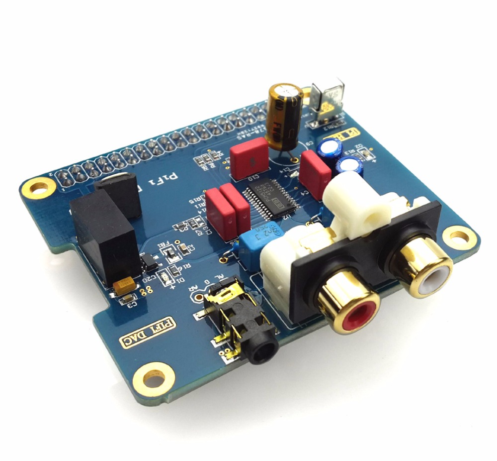 цена на Pifi Digital DAC+HIFI Digital Audio Card for Raspberry Pi B + 2B