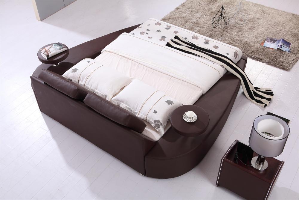 Κρεβάτι με στρογγυλά έπιπλα, Κρεβάτι - Επιπλα - Φωτογραφία 2