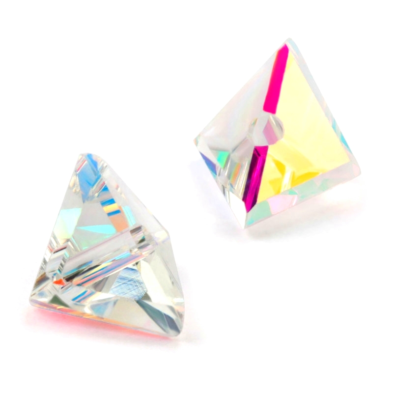 Beads Triangle-Shape Jewelry-Accessories DIY Austria Crystal for Super-Shiny 8/10mm