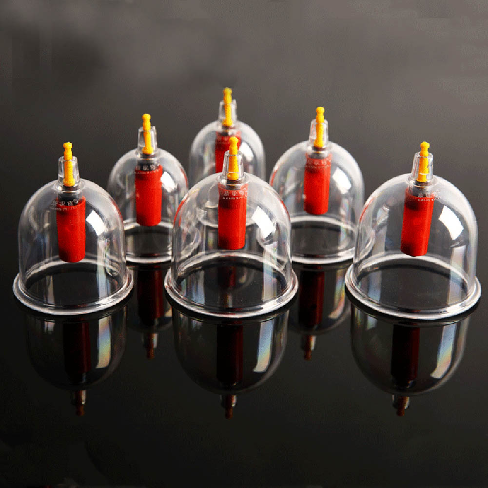 24 Pcs Massage Cans Massager Health care Cans Opener Family Body Massage Anti Cellulite Vacuum Cupping Massage Cupping Tank Set 1 set 6 can massager health monitors products can opener pull vacuum cupping of the tanks cutem extractor acupuncture hot sale
