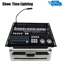 купить Fast ship Super Pro 512 DMX Controller with flycase Netdo DMX 512 Master console flight box for XLR-3 led par beam moving head по цене 27084.8 рублей