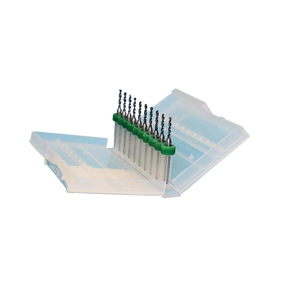 2,05 мм до 3,0 мм 10 шт./компл. печатной платы сверло Вольфрам для ЧПУ Микро Мини дрель