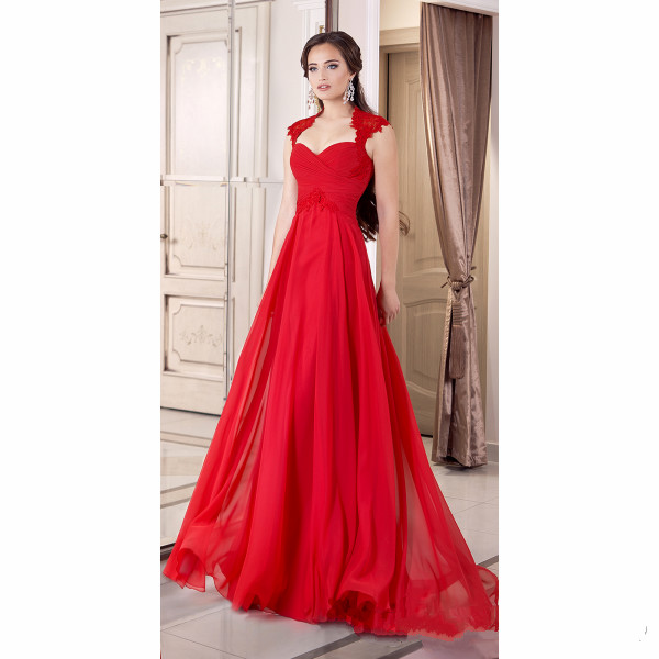 Aliexpress.com : Buy 2016 Formal Red Evening Gown Corset ...