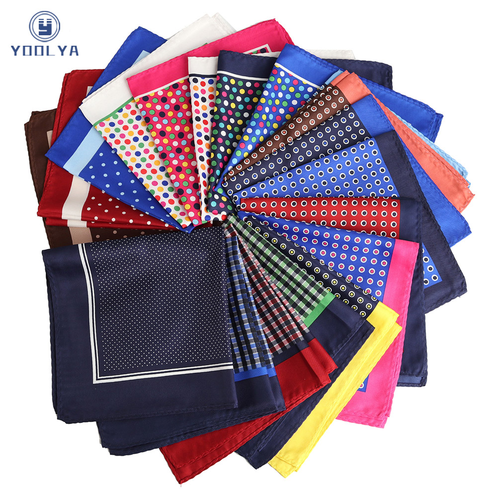 Fashion 33 X 33CM Man Polka Dot Floral Pocket Square Hankies Chest Towel Big Size Handkerchief For Men's Suit Wedding Party