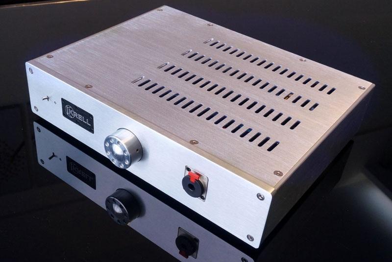 luxury Full Aluminum Chassis Audio Amplifier Enclosure / Headphone Case/ Mini Power amp Box DIY 320x70x240mm