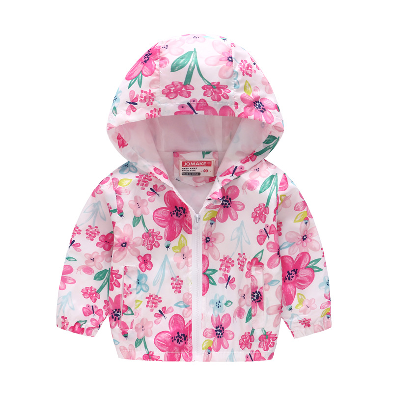 Winter Girls Warm Down Jackets Kids Fashion Printed Thick Outerwear Children Clothing Autumn Baby Girls Cute Jacket Hooded Coats (5)