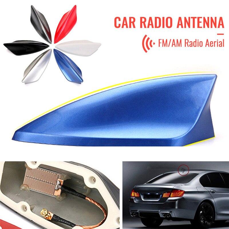 Antenne de Fin de requin, Radio universelle, FM/AM, antenne de remplacement pour BMW/Honda/Toyota/Hyundai/Kia/etc.