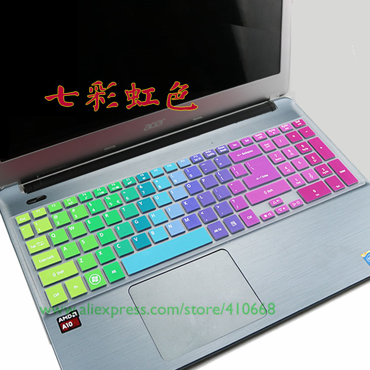 Maxsan for Acer Aspire E1 571G E1 531G E1 571 E1 531 P253 Ne 522 15 Inch Laptop Keyboard Cover Protector Skin-Allpink