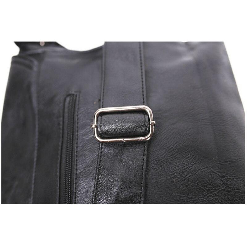 Три кутия мъже пратеник Crossbody чанта - Дамски чанти - Снимка 4