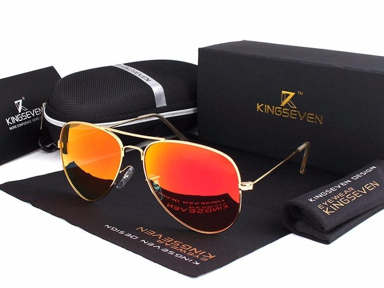 58mm Retro Sunglasses Women Kingseven Luxury Brand Female Sun glasses For Women 16 Fashion Oculos Designer Shades Unisex 3025 11