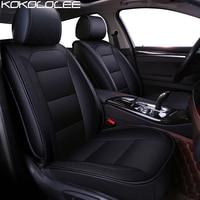 KOKOLOLEE Pu Leather Car Seat Cover For BMW F10 F11 F15 F16 F20 F25 F30 F34