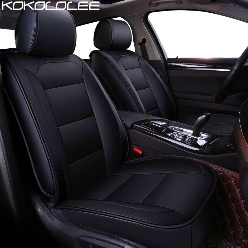 Couro pu tampa de assento do carro para BMW F10 F11 KOKOLOLEE F34 F30 F20 F25 F15 F16 E60 E70 E90 1 3 5 7 GT X1 X3 X4 X5 X6 Z4 Carro styling