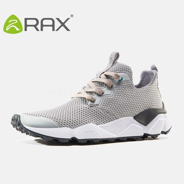 Rax Zapatillas para correr para hombres nuevo deporte Zapatos hombres  transpirable Zapatillas para correr hombres sneakers b60304ba8562b