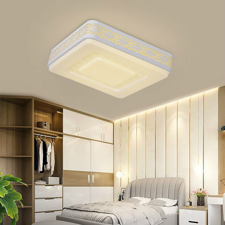 Rectangular 95cm modern ceiling lamp round simple living room lamp personality creative home lighting bedroom restaurantRectangular 95cm modern ceiling lamp round simple living room lamp personality creative home lighting bedroom restaurant